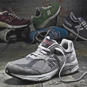 跳楼价$60!new balance M990V3男女跑步鞋