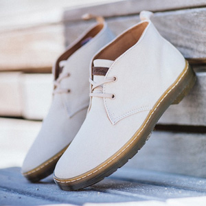 Dr. Martens 男士2孔帆布马丁靴
