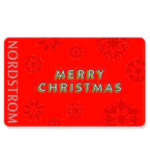Nordstrom买礼卡享优惠