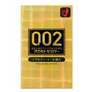 冈本0.02 超薄安全套 黄金版6只装