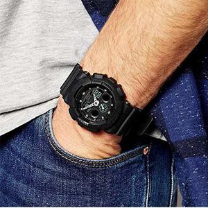 Casio卡西欧 G-Shock系列 GA-100MB-1AER男士运动手表
