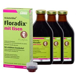 Salus Floradix 铁元500ml*3瓶