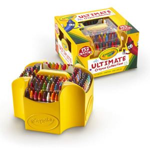 Crayola绘儿乐 152色彩色蜡笔*3套