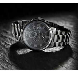 Citizen西铁城夜鹰系列 CA0295-58E 男款三眼光动能腕表