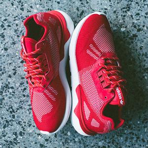 新年红!Adidas Tubular Weave休闲运动鞋