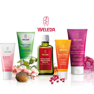 德国BA保镖药房有Weleda 维蕾德 有机护肤品促销