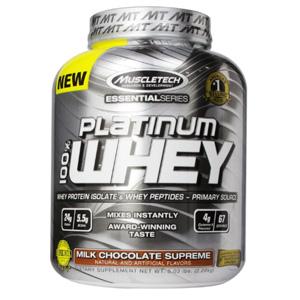 金盒特价!MuscleTech肌肉科技 白金乳清蛋白质粉 5磅