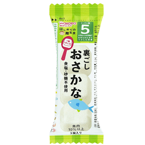 wakodo 和光堂 婴幼儿辅食 鳕鱼块 2.6g×6袋