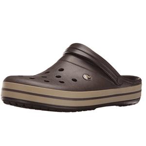 Crocs卡洛驰Crocband 男士洞洞鞋 棕色款