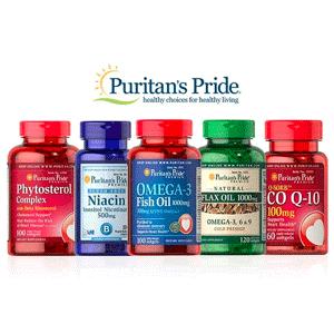 Puritans Pride官网保健品情人节买2送3+额外8折