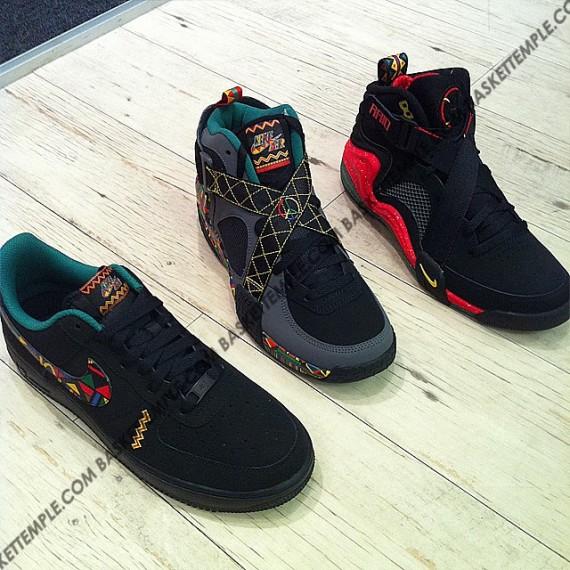Nike Sportswear 都市丛林健身房系列实物