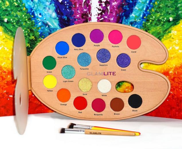 GlamliteCosmetics全新Paint眼影盘7月24日官网预定