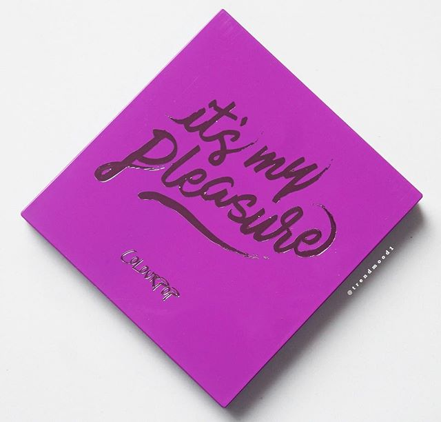 ColourPop全新眼影盘It`smypleasure美国1月18日上市