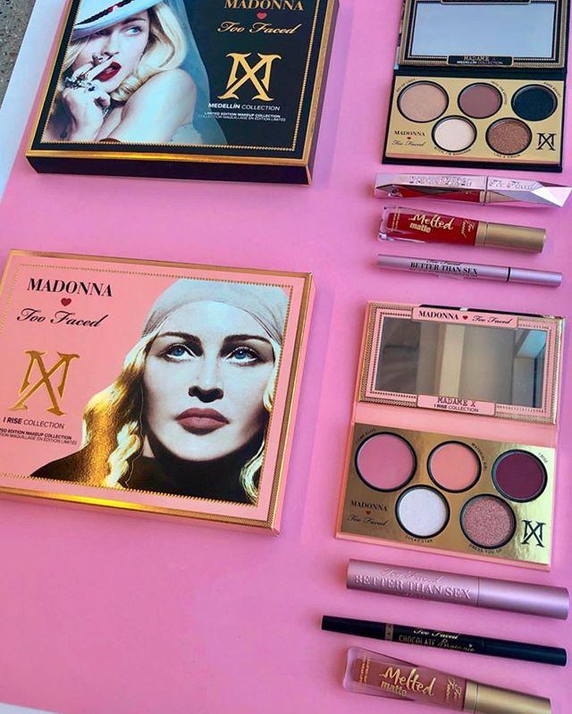 TooFaced×Madonna联名系列彩妆Madonna巡回演出独家发售