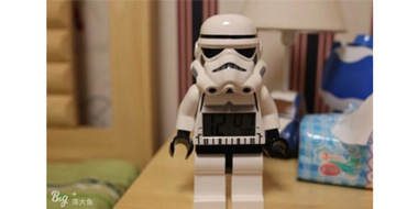 LEGO 乐高 突击兵闹钟