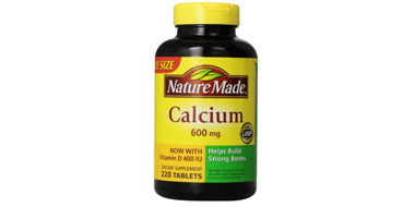 Nature Made 液体钙含VD配方600mg*220粒