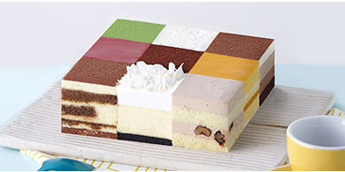 LE CAKE 诺心 环游世界春夏季蛋糕 2磅