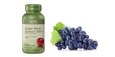 GNC 健安喜 Herbal Plus 葡萄籽胶囊300mg*100粒