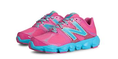 成人可穿:New Balance新百伦K4090PRG女童款大童跑鞋