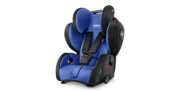 德国制造:Recaro Young Sport Hero 瑞卡罗超级大黄蜂儿童安全座椅 蓝色款