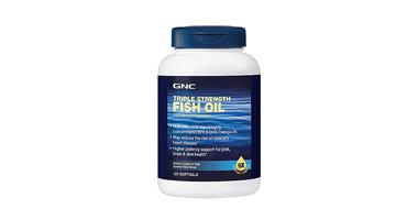 健安喜GNC 三倍强效深海鱼油 改良版 1500mg*120粒