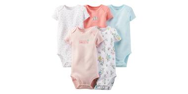 Carter's精选婴儿连体服促销低至3折+额外7.5折