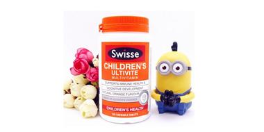 橙子口味,Swisse儿童复合维生素咀嚼片 60片