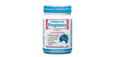 Life Space 孕妇及哺乳期妇女益生菌胶囊 60粒 调节肠胃增强免疫力