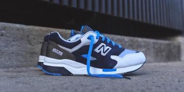 New balance CM1600 经典男士跑鞋蓝白色款特价$59.99