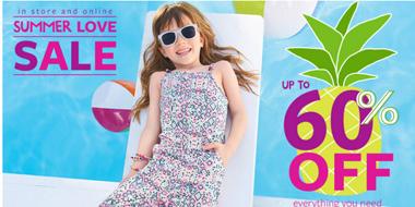 Carters全场童装、童鞋、儿童配饰等促销