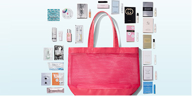 Nordstrom购买美妆,护肤产品满$125免费24件套大礼包