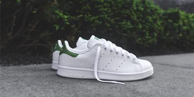 Adidas阿迪达斯STAN SMITH 绿尾小白鞋
