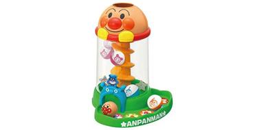 Anpanman面包超人 滚球旋转滑梯玩具 锻炼宝宝手指力度