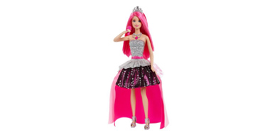 Barbie 芭比娃娃 摇滚皇室变装玩偶