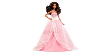 美非混血,Barbie 芭比娃娃 2015生日心愿版