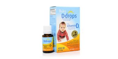 Ddrops 婴儿维生素D3滴剂400 IU* 2.5ml