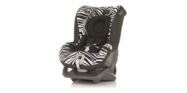 Britax Romer百代适儿童汽车安全座椅超级头等舱斑马纹