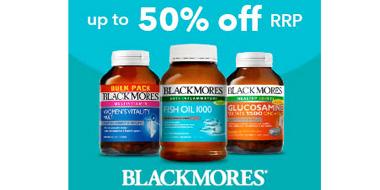 CW澳洲大药房Blackmores品牌低至5折