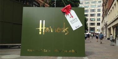 英国百货Harrods大牌鞋包美妆等额外9折