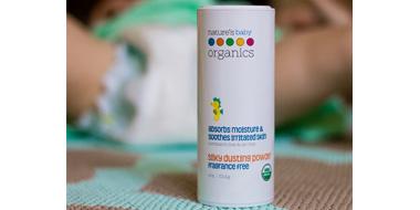 Nature's Baby Organics自然宝宝有机无香型爽身粉113.4g