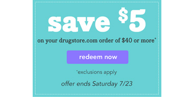 Drugstore现有全场满$40减$5促销