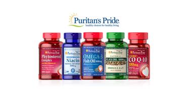 Puritan's Pride普瑞登官网精选自家品牌保健品热卖