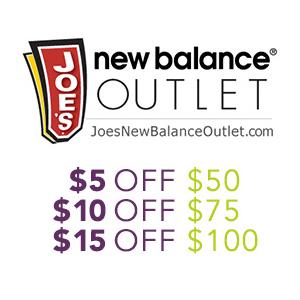 Joe's NB Outlet现有全场商品阶梯满减促销
