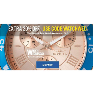 World of Watches精选品牌腕表限时1天特惠