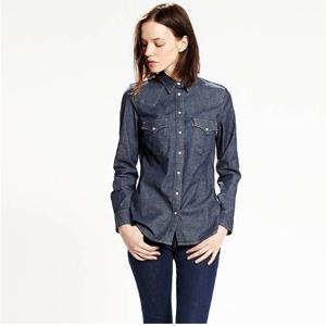 Levi's 李维斯 TAILORED WESTERN 女士牛仔衬衫