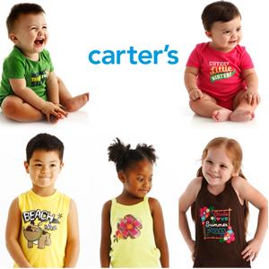Carter's官网精选童装低至5折热卖