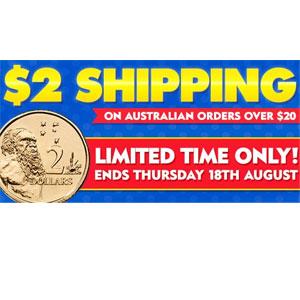 澳洲CW大药房运费大优惠满AU$20澳洲境内运费只需2澳