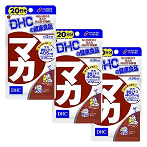 DHC玛卡浓缩精华 60粒×3