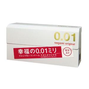 Sagami Original 幸福相模001超薄避孕套/安全套 5只装