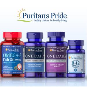 Puritan's Pride自营保健品买1送2/买2送4